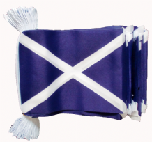 SCOTLAND ST ANDREW BUNTING - 9 METRES 30 FLAGS